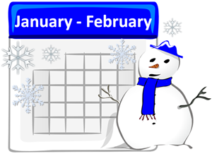 January and February